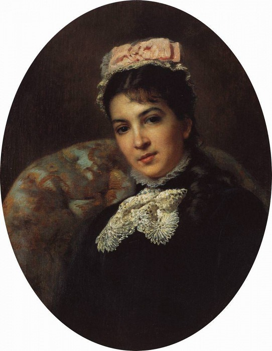 Actress Maria Savina. Konstantin Makovsky