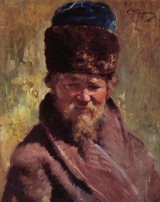 Coachman. Konstantin Makovsky