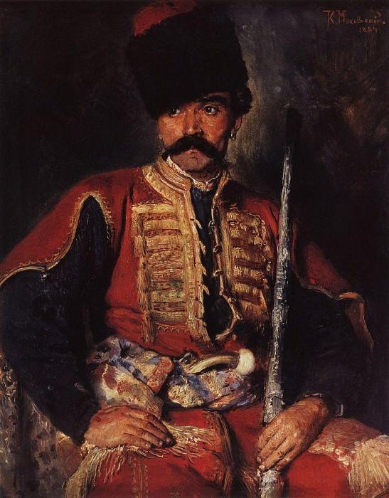 Zaporozhye Cossack. Konstantin Makovsky