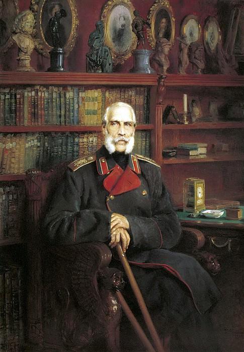 Портрет графа Сергея Георгиевича Строганова 1882 Холст масло. Konstantin Makovsky