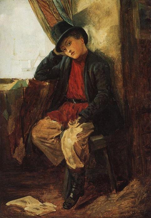 Брат художника В. Е. Маковского в детстве. Константин Егорович Маковский