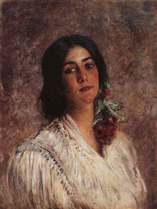 Женский портрет. Константин Егорович Маковский