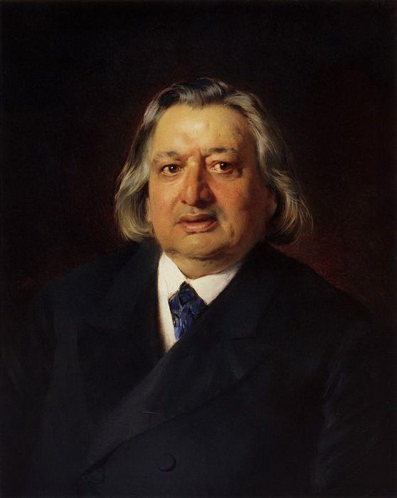 O.A. Petrov, Opera Artist. Konstantin Makovsky