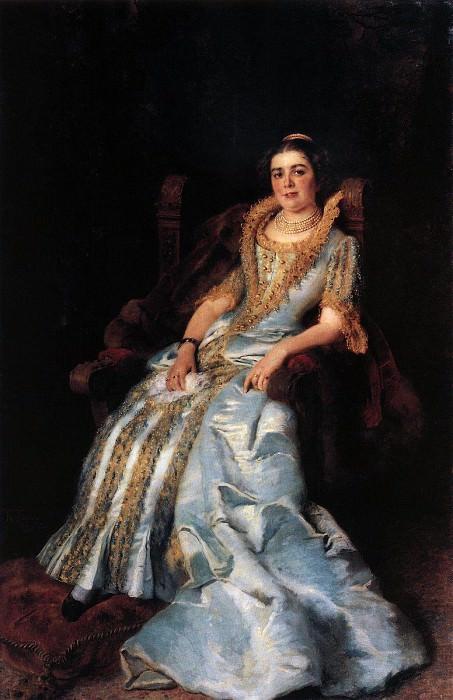Varvara Morozova. Konstantin Makovsky