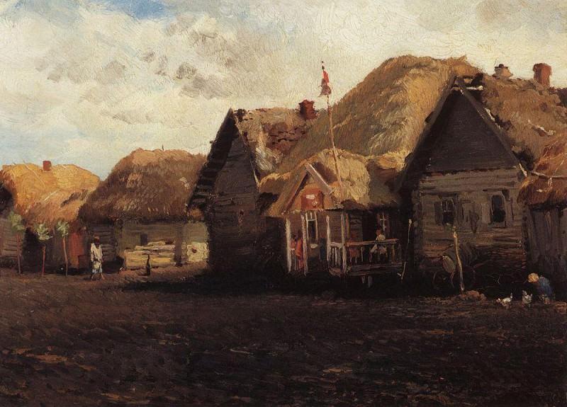 Country landscape. Konstantin Makovsky