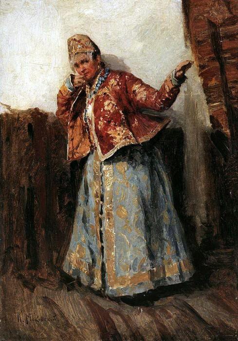 Portrait 20. Konstantin Makovsky