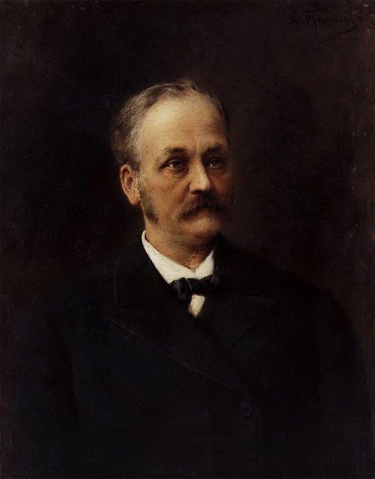 Man portrait. Konstantin Makovsky