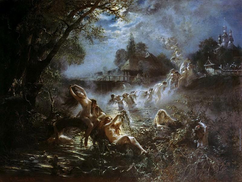 Mermaids. Konstantin Makovsky