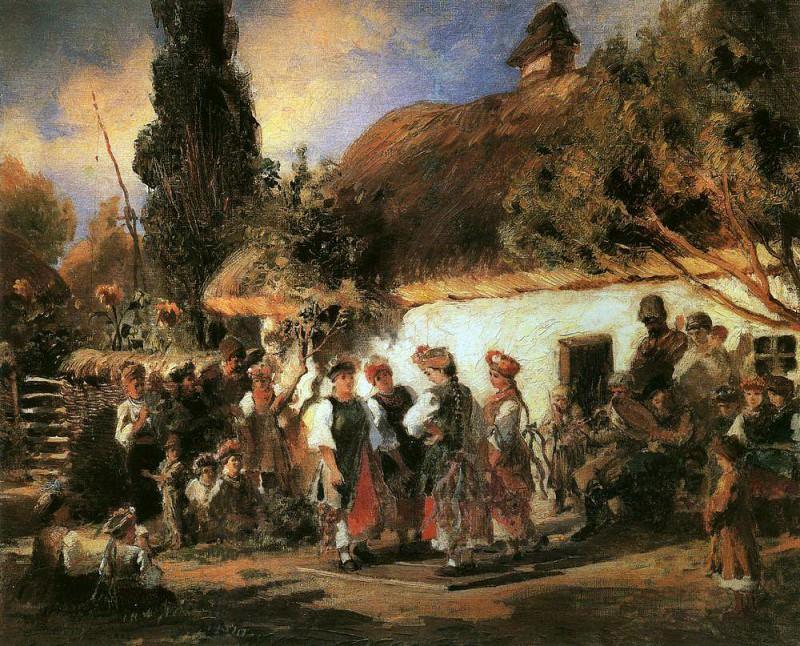 Ukrainean fest. Konstantin Makovsky