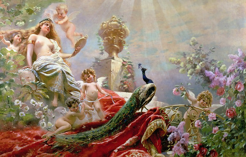 The Toilet of Venus. Konstantin Makovsky