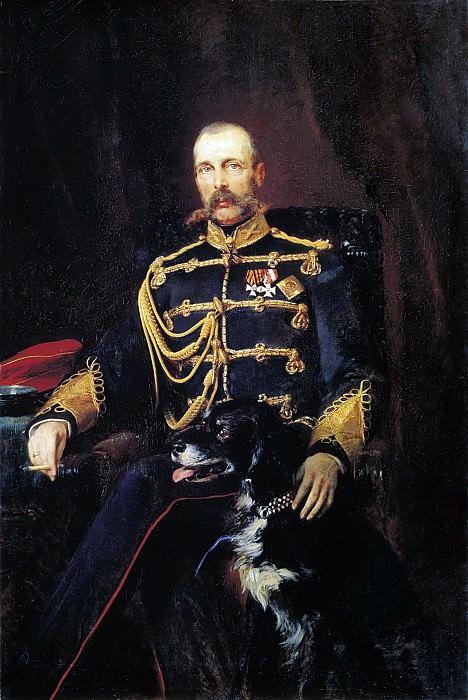 Портрет Александра II. 1881. Холст, масло. 164х108 см. Konstantin Makovsky