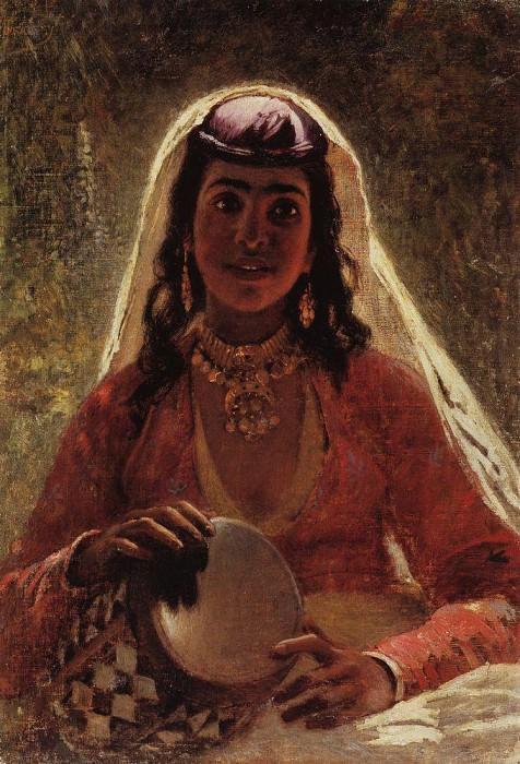 Gypsy. Konstantin Makovsky