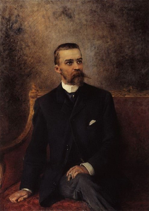 A.G. Kuznetsov. Konstantin Makovsky