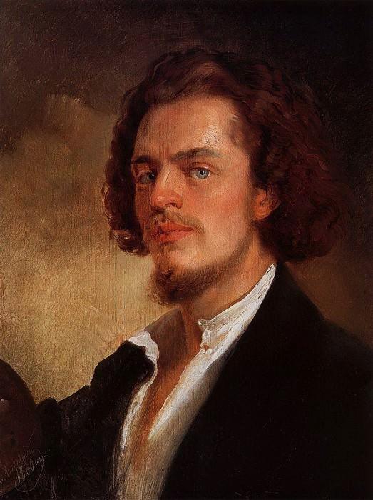 Self-portrait. Konstantin Makovsky