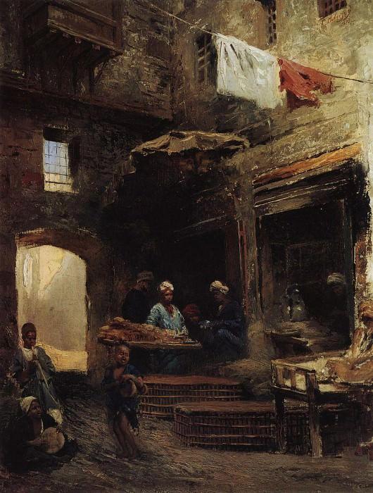 Cairo Yard. Konstantin Makovsky