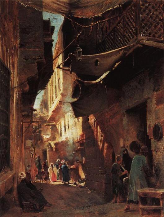 Cairo Street. Konstantin Makovsky