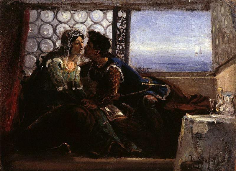 Ромео и Джульетта. Константин Егорович Маковский