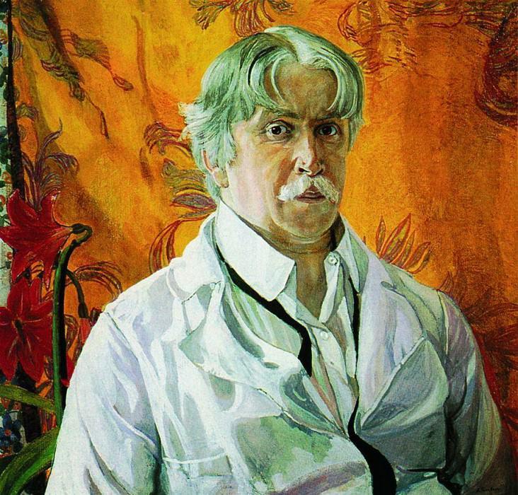 Автопортрет. 1927. Alexander Golovin