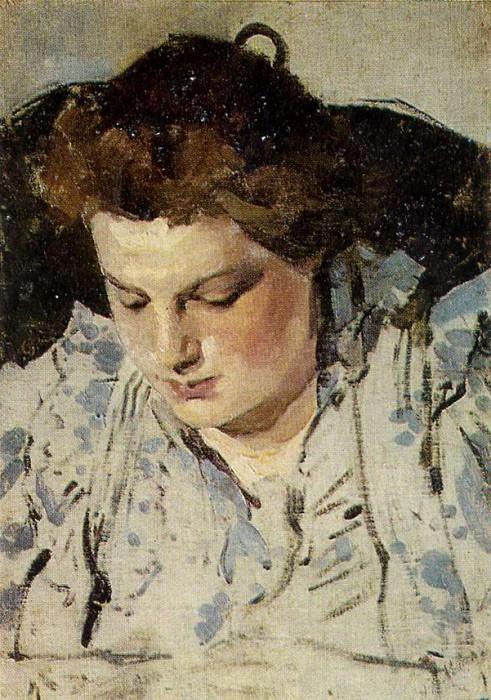 Портрет М. К. Головиной. 1898. Александр Яковлевич Головин