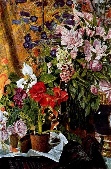 Цветы. 1912. Alexander Golovin