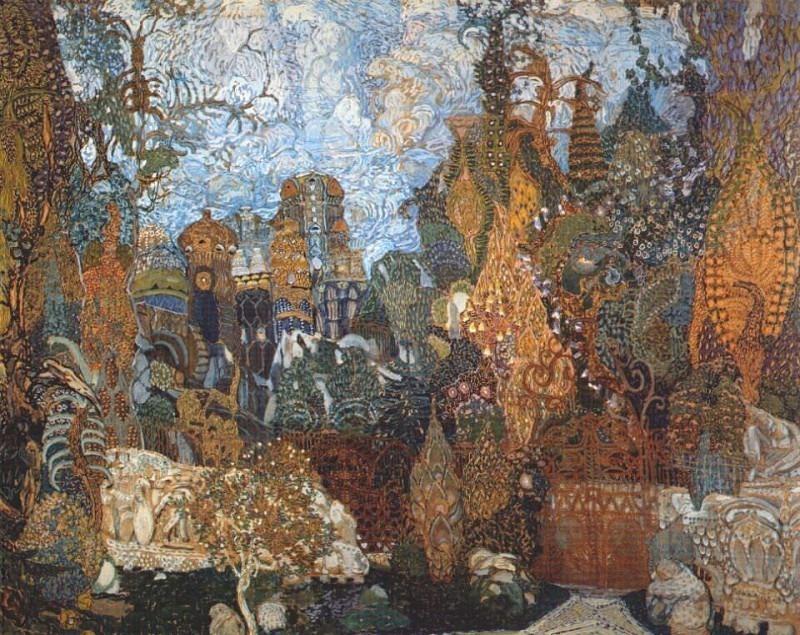 golovin loiseau-de-feu kashcheis-kingdom 1910. Александр Яковлевич Головин