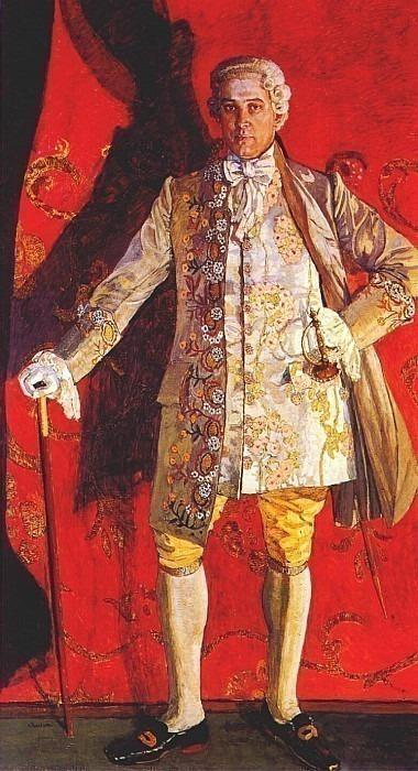 golovin dmitry smirnov as de grieux in massenets manon 1909. Александр Яковлевич Головин