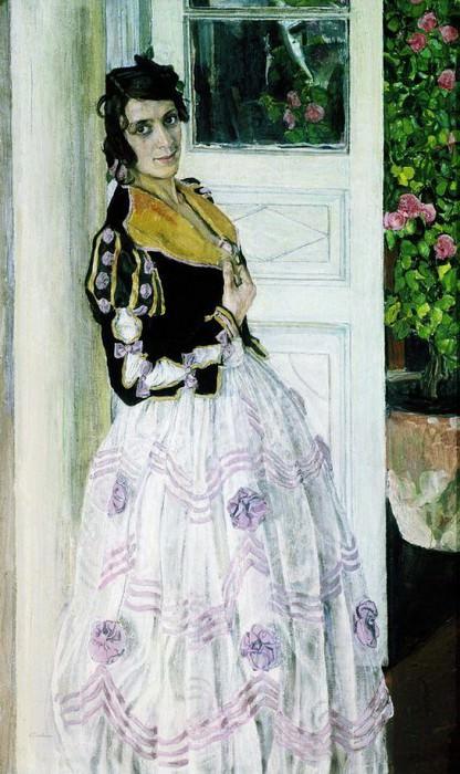 Испанка на балконе. 1911. Alexander Golovin