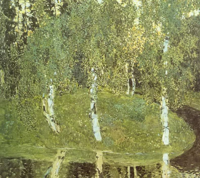Березы. 1908-1910. Александр Яковлевич Головин