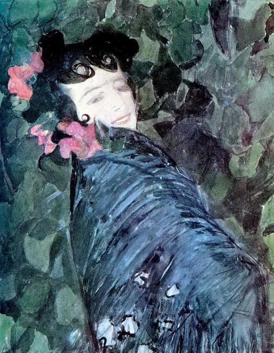 Испанка. 1902. Alexander Golovin