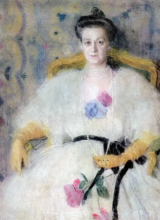 Портрет М.В.Воейковой. 1905. Alexander Golovin
