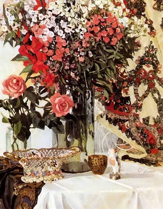 Натюрморт с цветами. Александр Яковлевич Головин