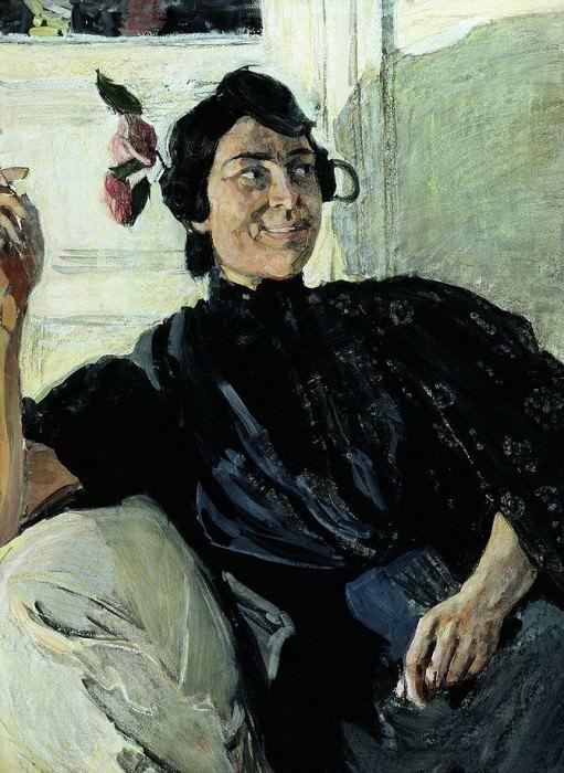 Испанка с папиросой. 1907–1908. Александр Яковлевич Головин