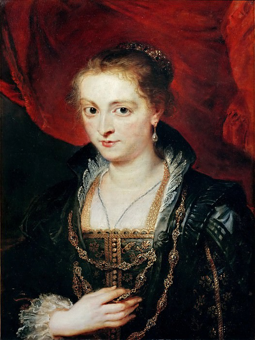 Suzanne Fourment. Peter Paul Rubens