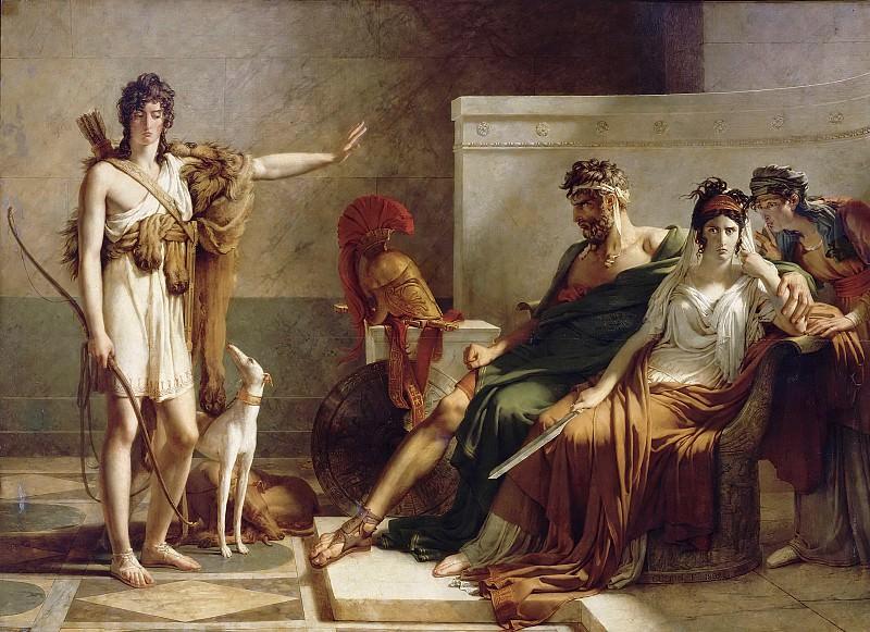 Pierre Guérin -- Phaedra and Hippolytus (Phèdre et Hippolyte). Part 5 Louvre