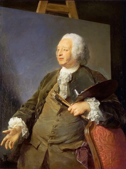Перроно, Жан-Батист (1715 Париж - 1783 Амстердам) -- Портрет Жана-Батиста Удри. часть 5 Лувр