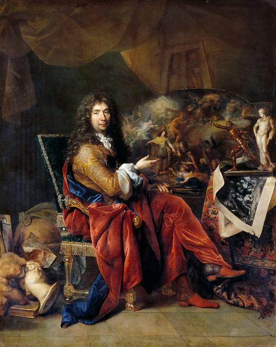 Nicolas de Largillière -- Charles Le Brun. Part 5 Louvre