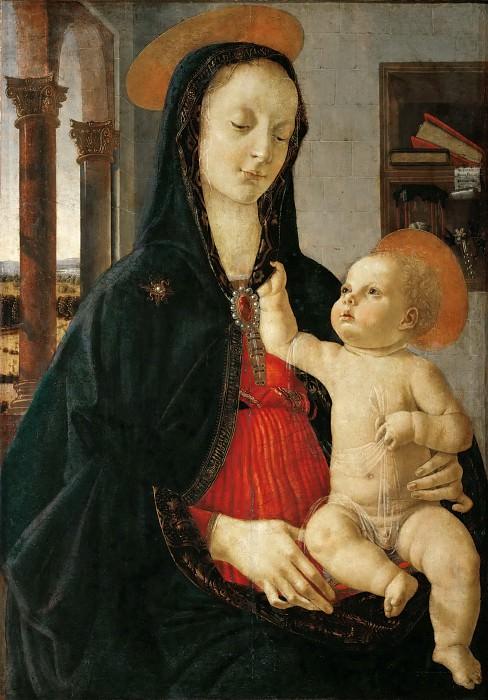 Domenico Ghirlandaio -- Madonna and Child. Part 5 Louvre