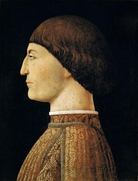 Piero della Francesca (c. 1415-1492) -- Sigismonda Pondolfo Malatesta (1415-1468). Part 5 Louvre