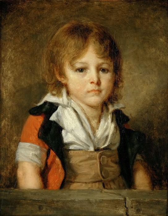 Jean-Baptiste Greuze (1725-1805) -- Édouard François Bertin as a Child. Part 5 Louvre