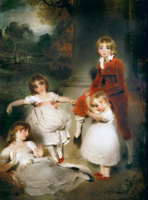 Thomas Lawrence (1769-1830) -- Children of John Angerstein. Part 5 Louvre