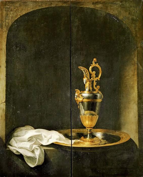 Gerrit Dou -- The Silver Ewer. Part 5 Louvre