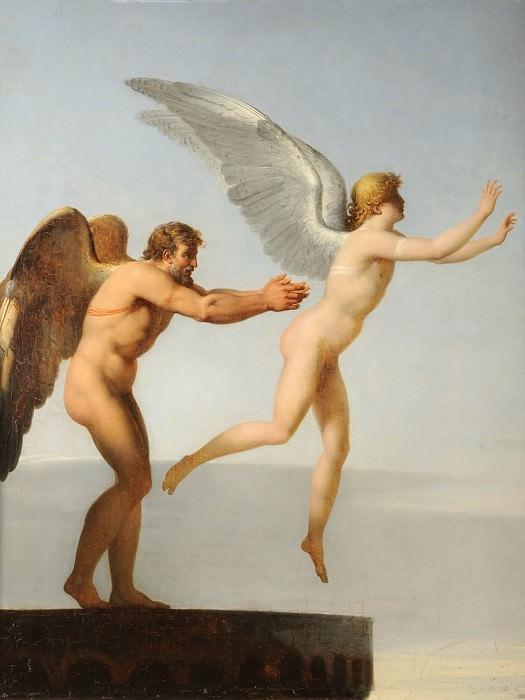 Ландон, Шарль-Поль (1760-1826) -- Дедал и Икар. часть 5 Лувр