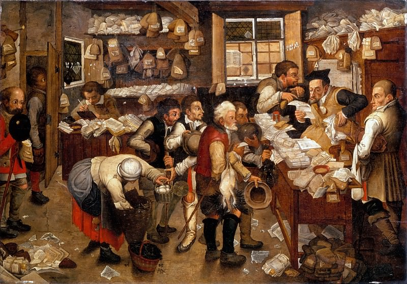 Tax Collector. Pieter Brueghel the Younger