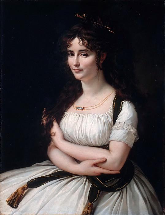 Гро, Антуан-Жан (1771 Париж - 1835 Медон) -- Мадам Пастер. часть 5 Лувр