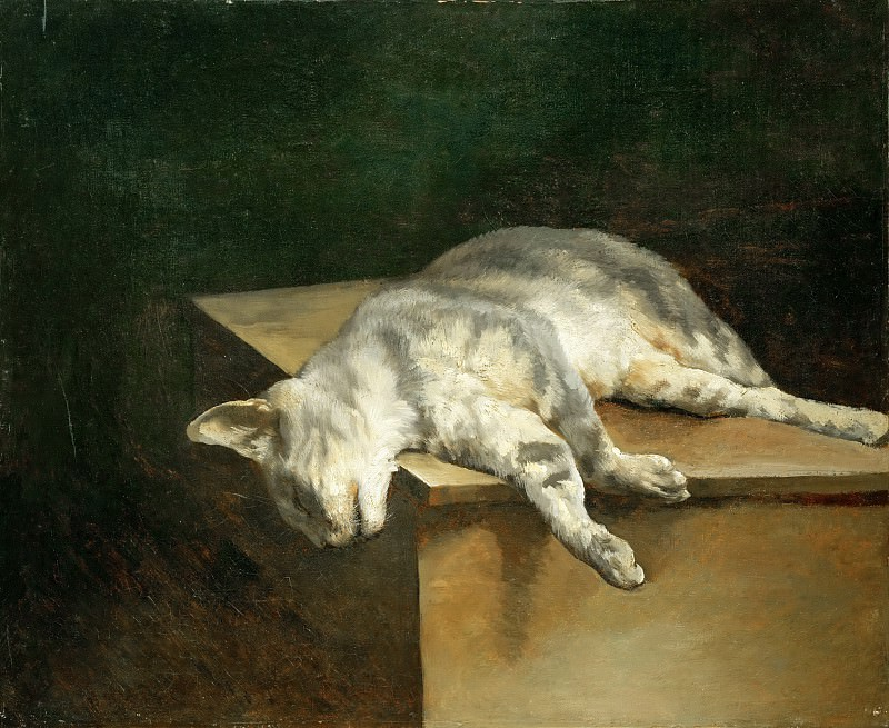 Théodore Géricault -- Dead Cat. Part 5 Louvre