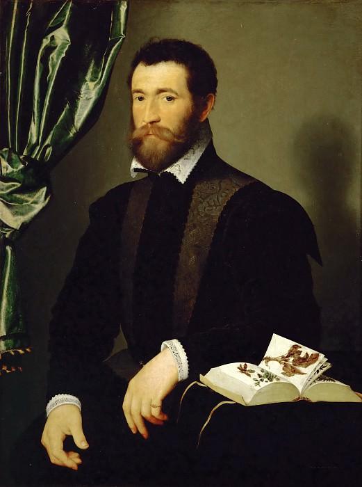 Клуэ, Франсуа (ок1510 Тур - 1572 Париж) -- Портрет аптекаря Пьера Кюта. часть 5 Лувр