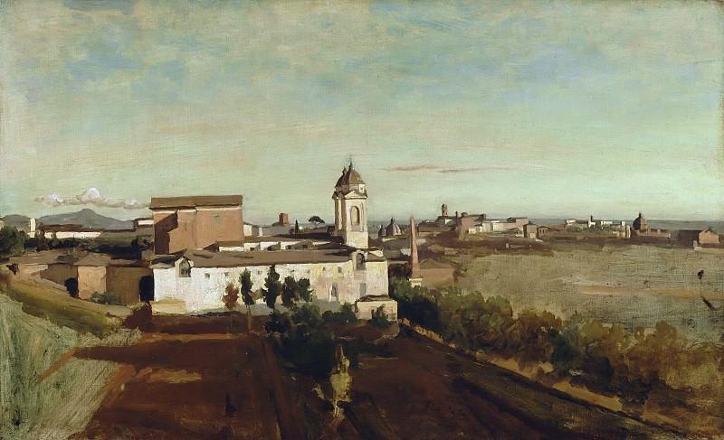 Jean-Baptiste-Camille Corot -- Trinité-des-Monts. Part 5 Louvre