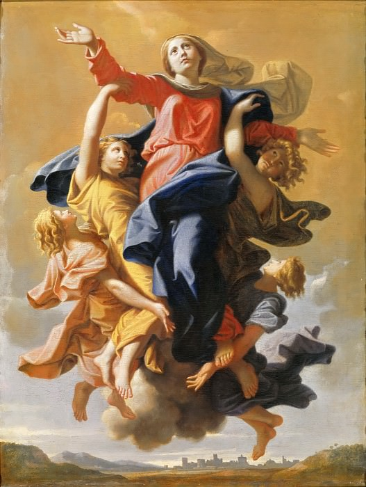 Assumption of the Virgin. Nicolas Poussin