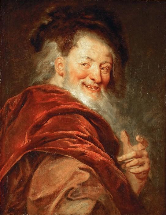 Antoine Coypel -- Democritus. Part 5 Louvre