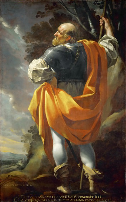 Simon Vouet -- Gaucher de Chatillon. Part 5 Louvre